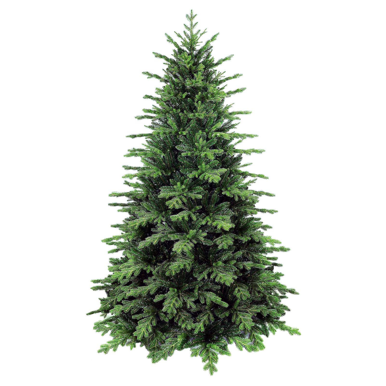 Sapin de Noël 240 cm poly vert Dunant. Sapin de Noël artificiel modèle Dunant de la marque Winter Woodland, réalisé en exclusivité pour Holyart, d'une hauteur de 240 cm avec extrémités des branches vertes en poly (polyéthylène) Winter Woodland 3
