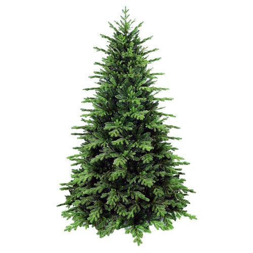 Sapin de Noël 240 cm poly vert Dunant. Sapin de Noël artificiel modèle Dunant de la marque Winter Woodland, réalisé en exclusivité pour Holyart, d'une hauteur de 240 cm avec extrémités des branches vertes en poly (polyéthylène) Winter Woodland 1