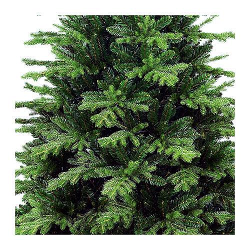 Sapin de Noël 240 cm poly vert Dunant. Sapin de Noël artificiel modèle Dunant de la marque Winter Woodland, réalisé en exclusivité pour Holyart, d'une hauteur de 240 cm avec extrémités des branches vertes en poly (polyéthylène) Winter Woodland 2