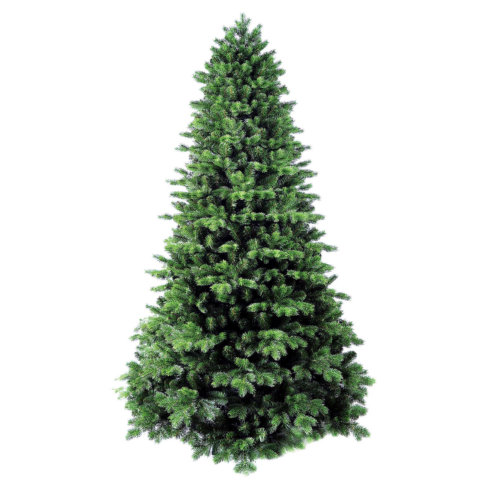 Choinka 240 cm zielona flokowana Poly Dufour Winter Woodland 3