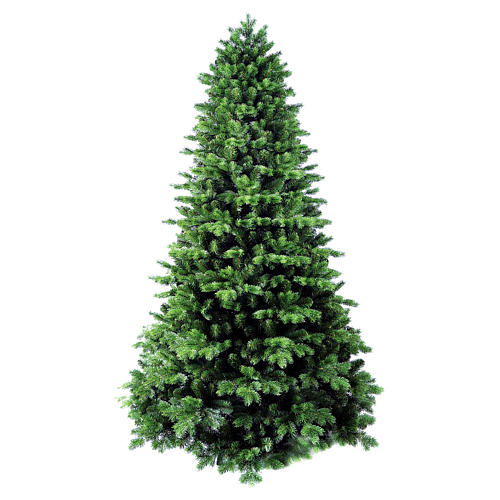 Christmas tree 270 cm Poly Flocked Dufour Winter Woodland 1