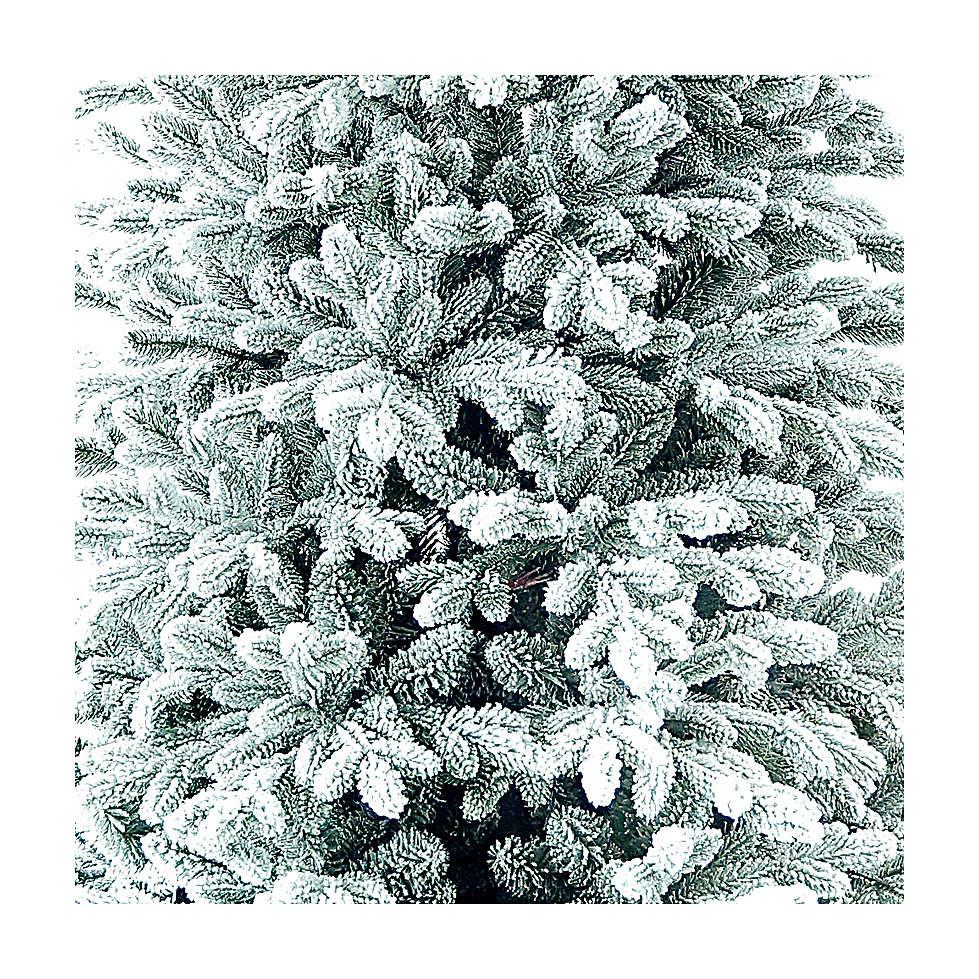Albero di Natale 210 cm Poly floccato Castor Winter Woodland 3