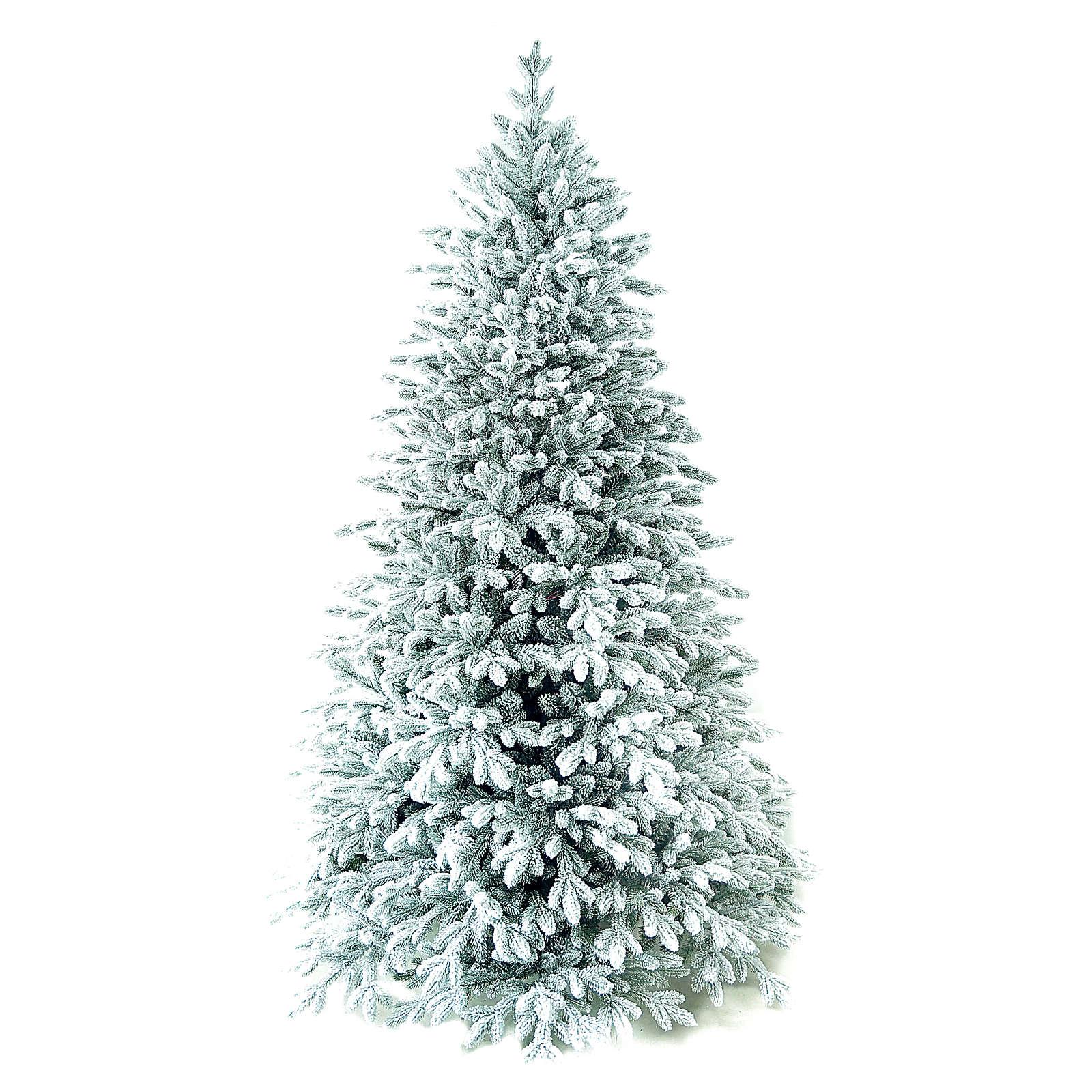 Choinka 210 cm ośnieżona flokowana Poly Castor Winter Woodland 3