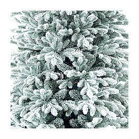 Choinka 210 cm ośnieżona flokowana Poly Castor Winter Woodland s2