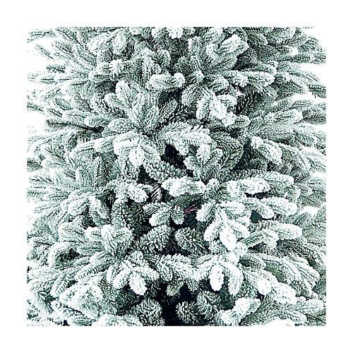 Choinka 210 cm ośnieżona flokowana Poly Castor Winter Woodland 2