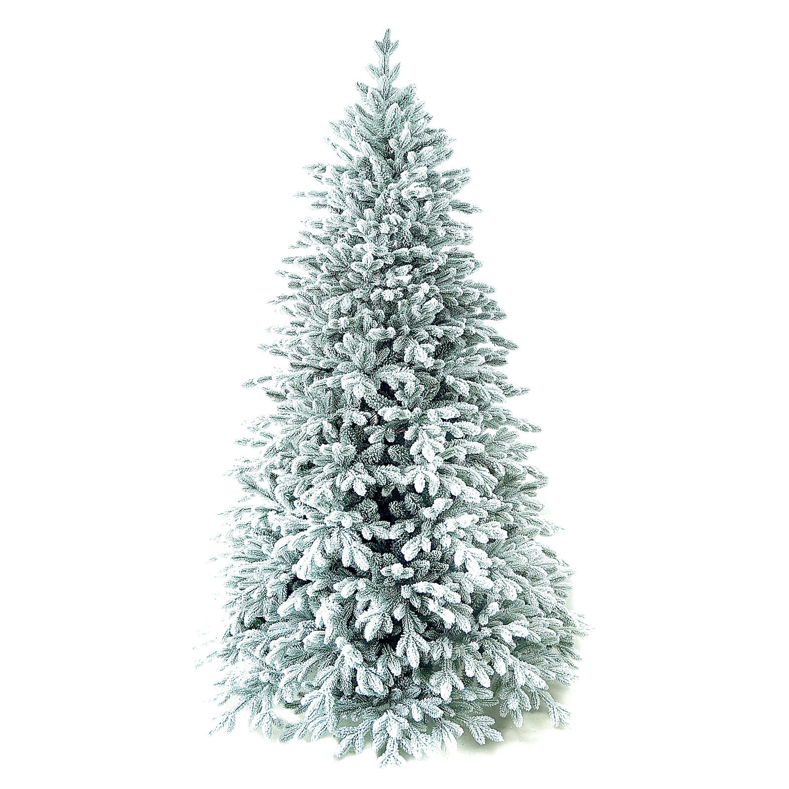 Árvore de Natal artificial 210 cm Poly flocado Castor Winter Woodland 3