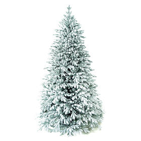 Árvore de Natal artificial 210 cm Poly flocado Castor Winter Woodland s1