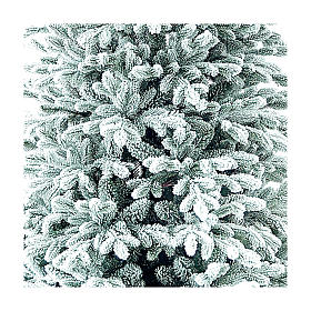 Christmas tree 210 cm Poly Frosted Castor Winter Woodland s2