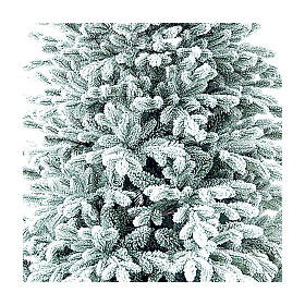 Árbol de Navidad 225 cm Poly Flocado Dufour Winter Woodland s2