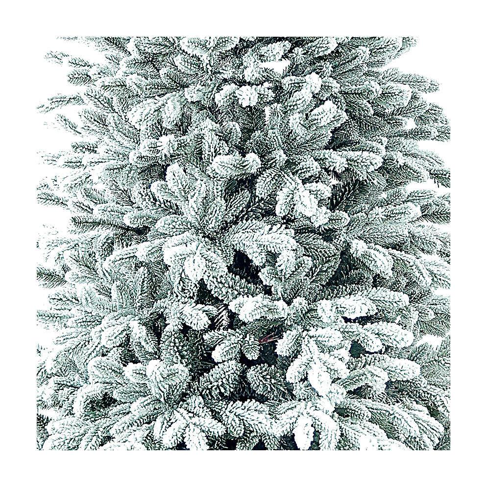 Albero di Natale 225 cm Poly floccato Castor Winter Woodland 3