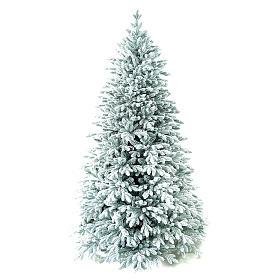 Árvore de Natal artificial 225 cm Poly flocado Castor Winter Woodland s1