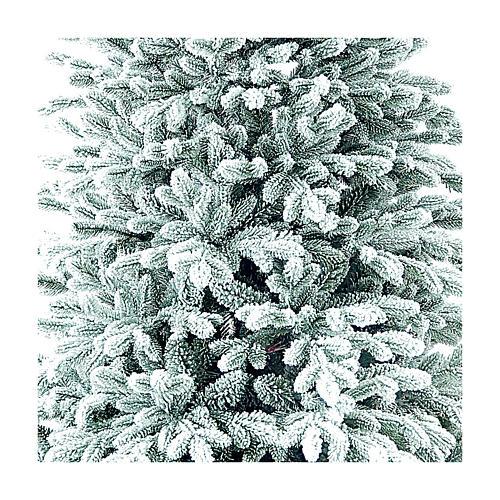 Árvore de Natal artificial 225 cm Poly flocado Castor Winter Woodland 2