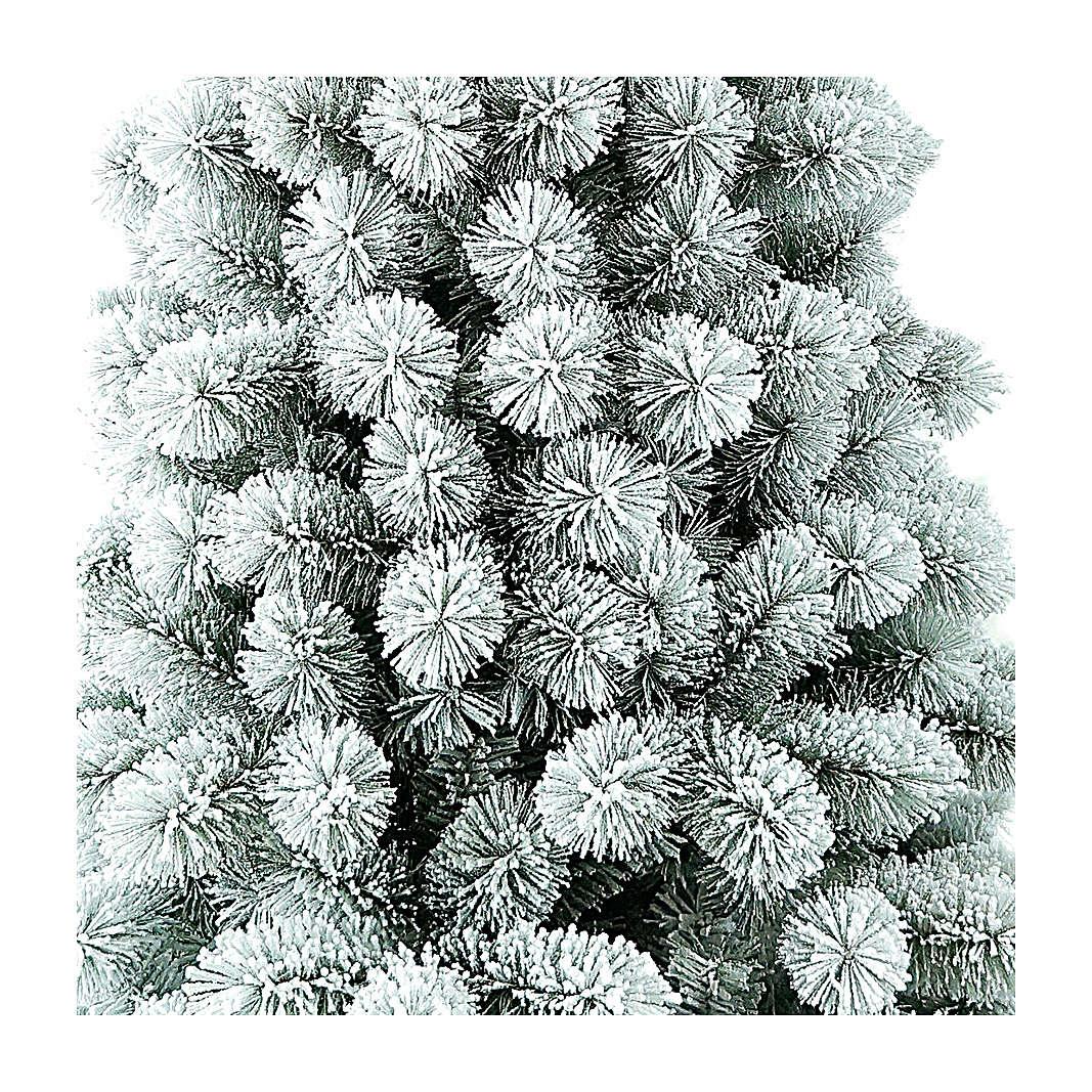Albero di Natale 180 cm Floccato Pvc Nordend Winter Woodland 3