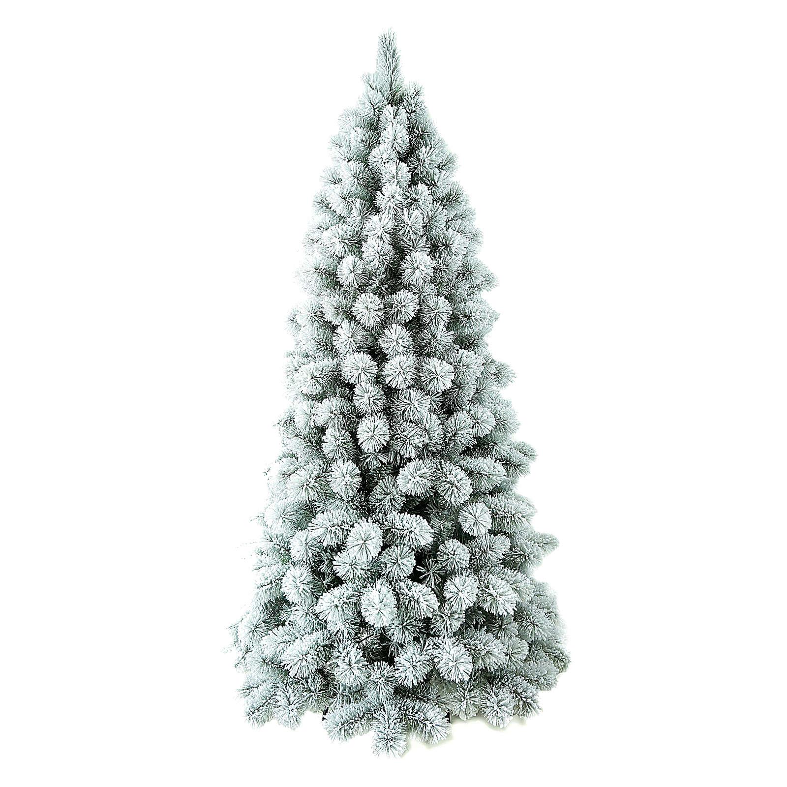 Albero di Natale 210 cm Floccato Pvc Nordend Winter Woodland 3