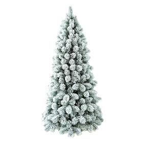 Albero di Natale 210 cm Floccato Pvc Nordend Winter Woodland s1