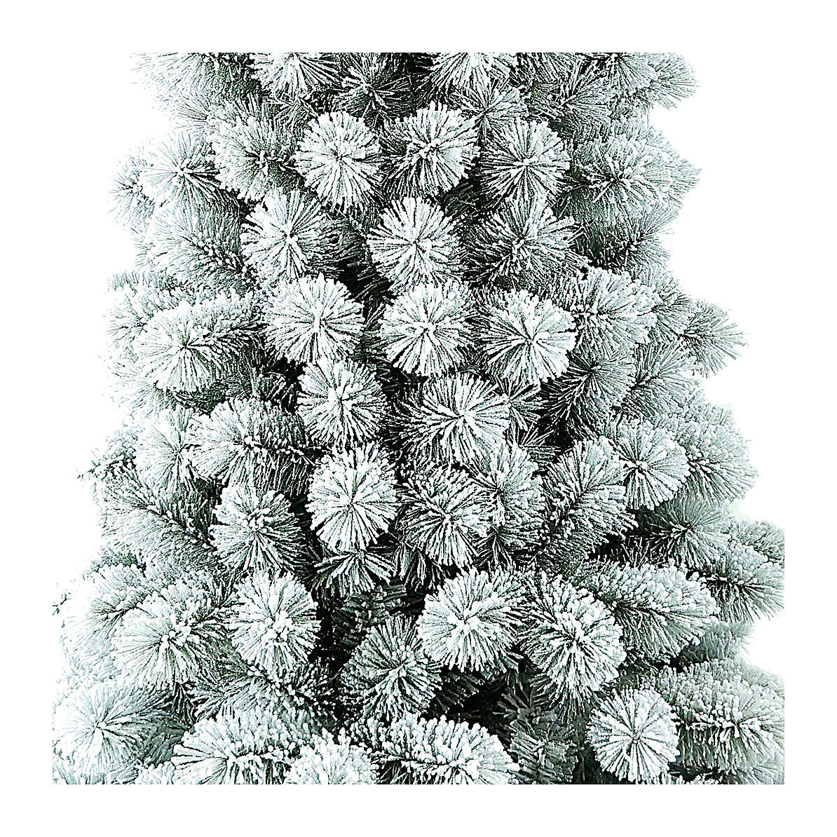 Sapin de Noël 240 enneigé pvc Nordend Winter Woodland 3