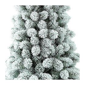 Albero di Natale 240 cm Floccato Pvc Nordend Winter Woodland s2