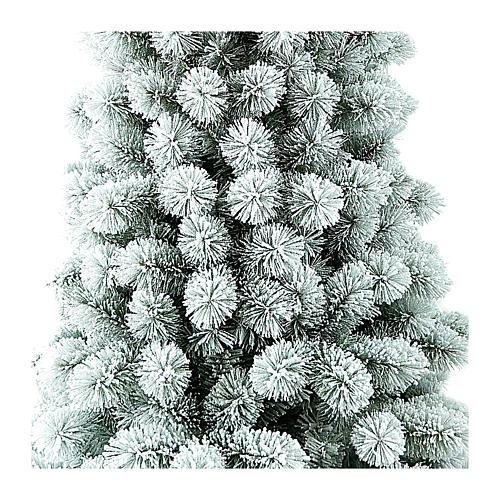 Albero di Natale 240 cm Floccato Pvc Nordend Winter Woodland 2