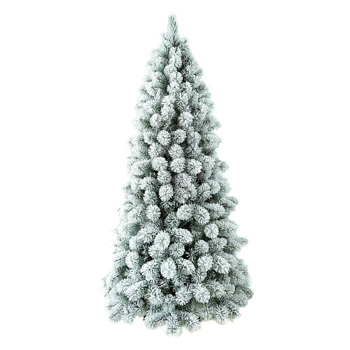 Árvore de Natal 240 cm Flocado PVC Nordend Winter Woodland 1
