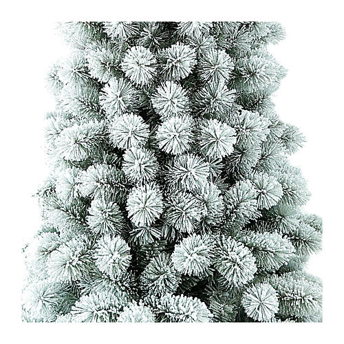 Christmas tree 240 cm Frosted PVC Nordened Winter Woodland 2