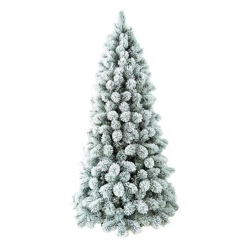 Árvore de Natal 270 cm Flocado PVC Nordend Winter Woodland 1