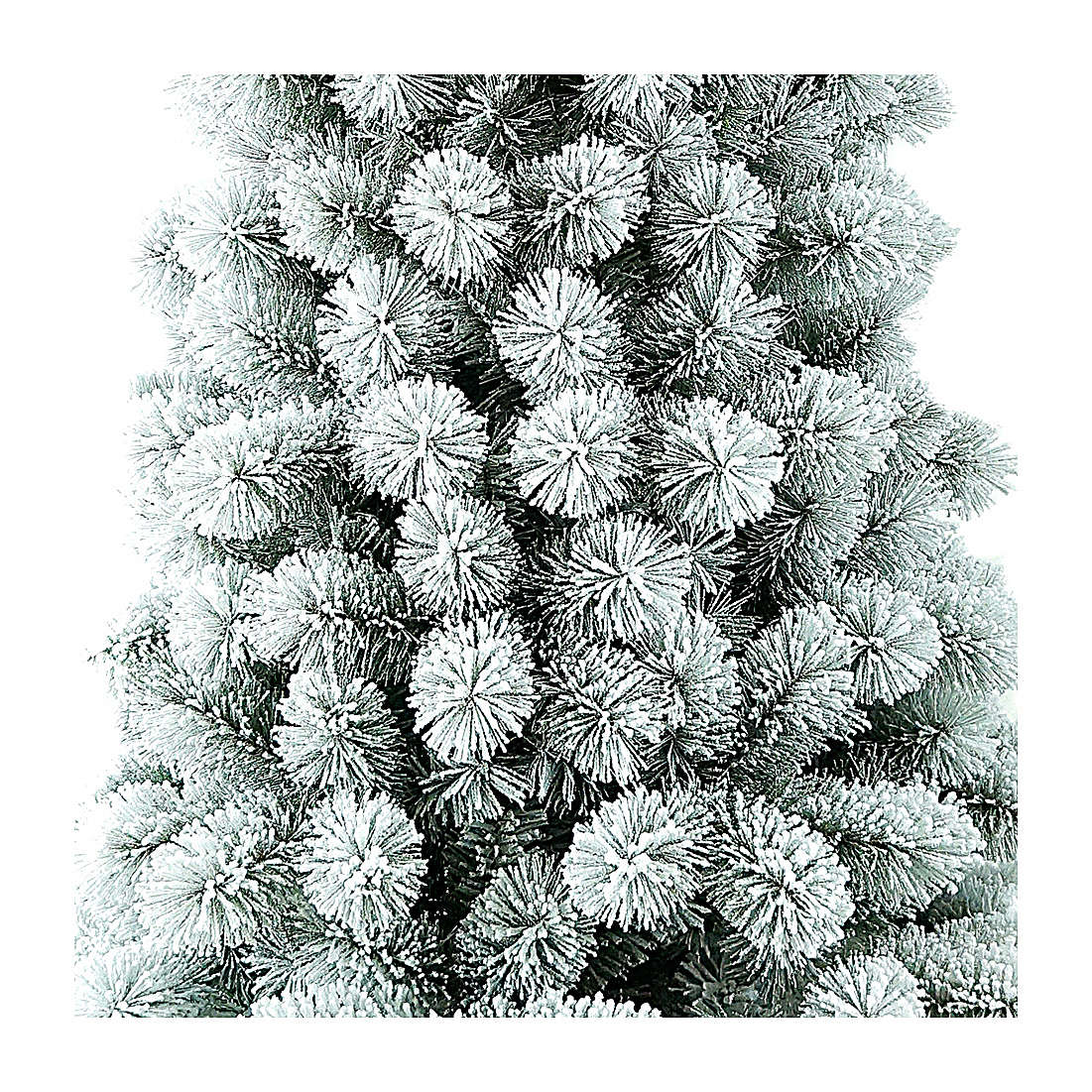 Albero di Natale 300 cm Floccato Pvc Nordend Winter Woodland 3