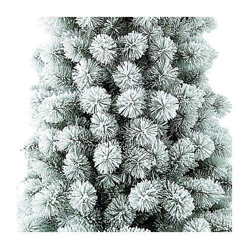 Albero di Natale 300 cm Floccato Pvc Nordend Winter Woodland 2