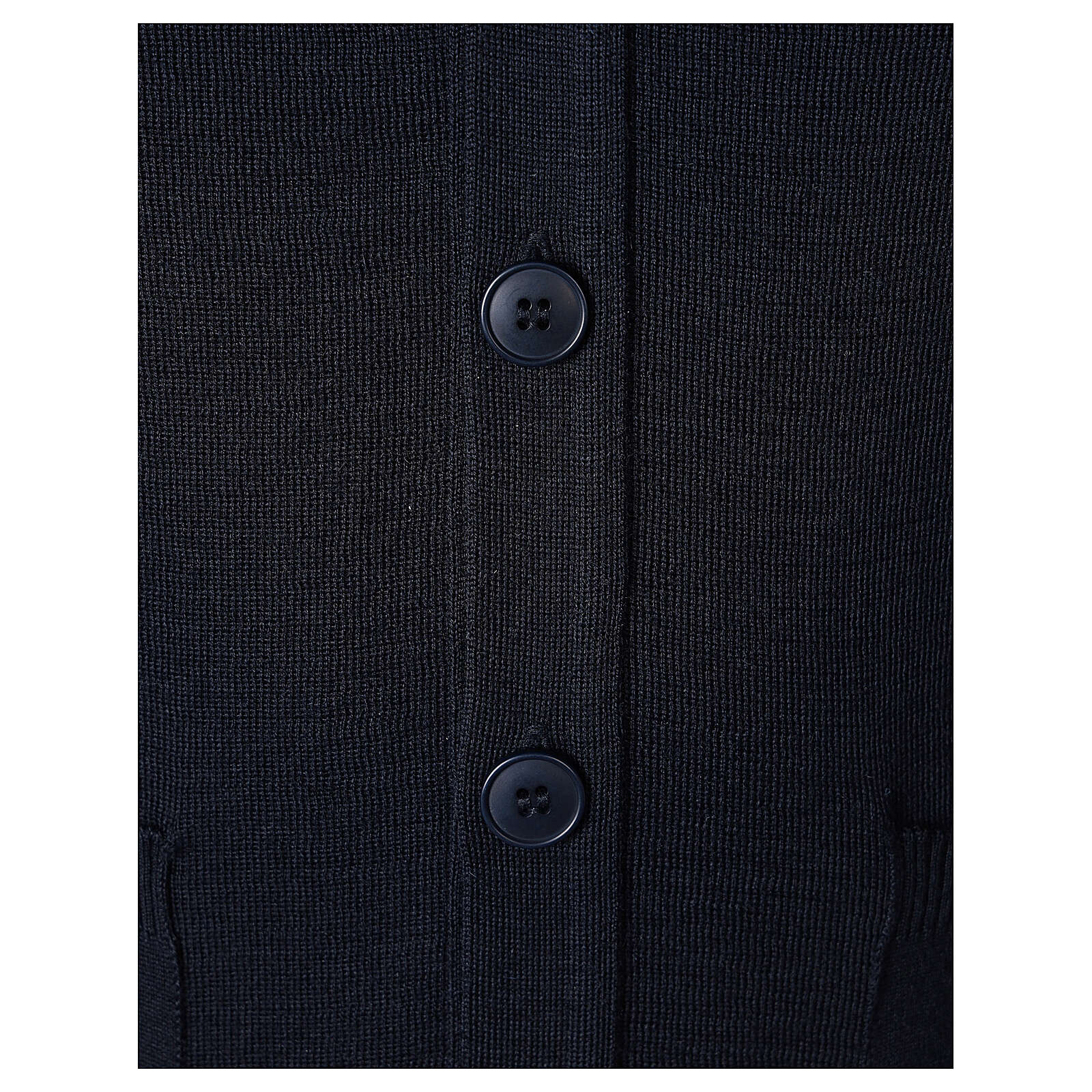 Giacca sacerdote blu tasche bottoni TAGLIE CONF. 50% merino 50% acr. In Primis 4