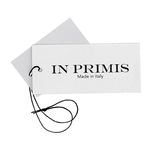 Cardigan suora nero collo V tasche maglia unita 50% acrilico 50% lana merino In Primis 8