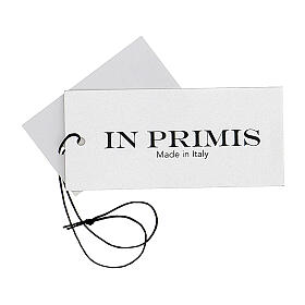 Black V-neck nun cardigan with pockets 50% acrylic 50% merino wool In Primis s8