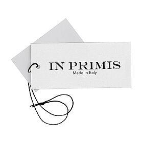 Gilet nero corto collo a V 50% acrilico 50% lana merino suora In Primis s5