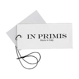 Nun white crew neck cardigan with pockets PLUS SIZES 50% merino wool 50% acrylic In Primis s8