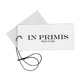 Gilet bleu soeur avec poches col en V GRANDE TAILLE 50% acrylique 50% mérinos In Primis s8