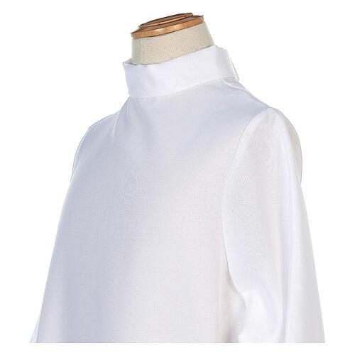 Tunichetta Prima Comunione bianco In Primis linea Classica 2