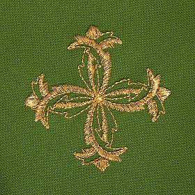 Casula liturgica con stola sole e croce s7