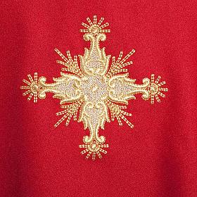 Casula liturgica con Stola croce s4