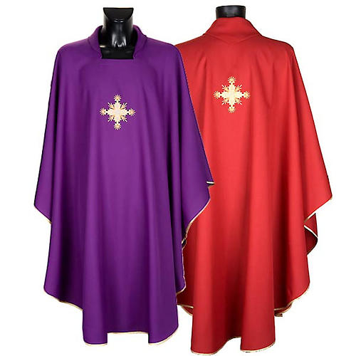 Casula liturgica con Stola croce 1