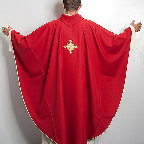 Casula liturgica con Stola croce 3