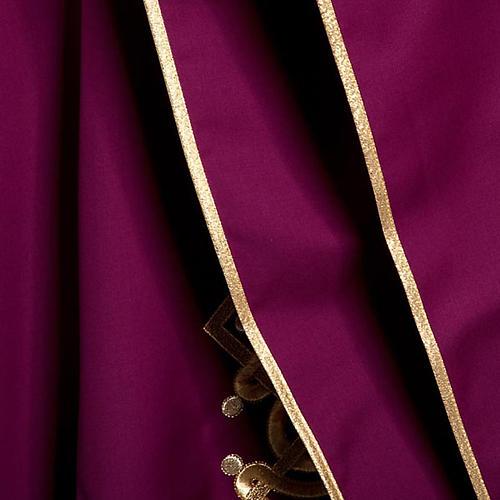 Casula liturgica con stola colombe acquasantiera 8