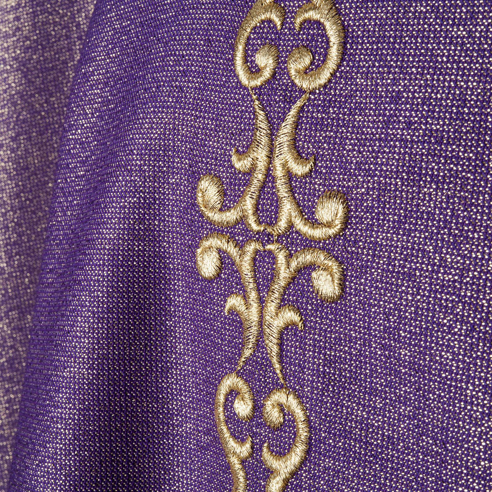 Casula e Stola lana e lurex 4