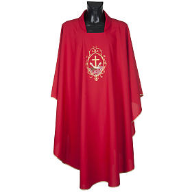Chasuble and stole, cross and hands s2