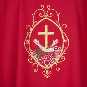 Chasuble and stole, cross and hands s5