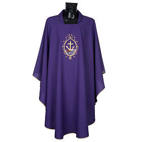 Chasuble and stole, cross and hands s17