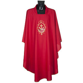 Chasuble and stole, cross and hands s3