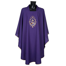 Chasuble and stole, cross and hands s16