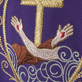 Chasuble and stole, cross and hands s21