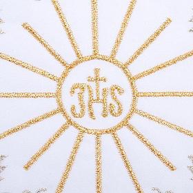 Servicio para la misa 4 piezas con bordado símbol IHS s3