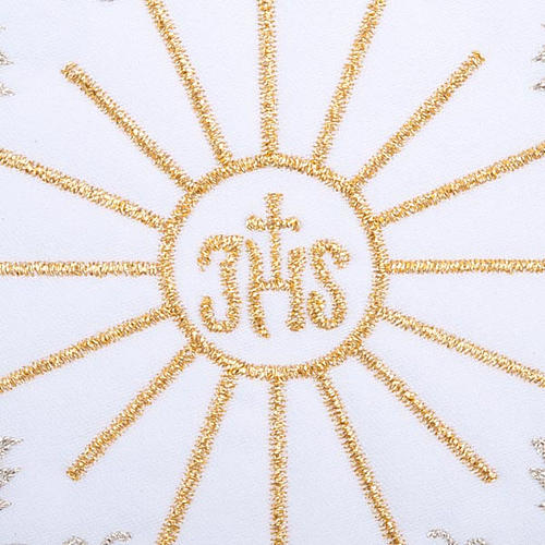 Servicio para la misa 4 piezas con bordado símbol IHS 3
