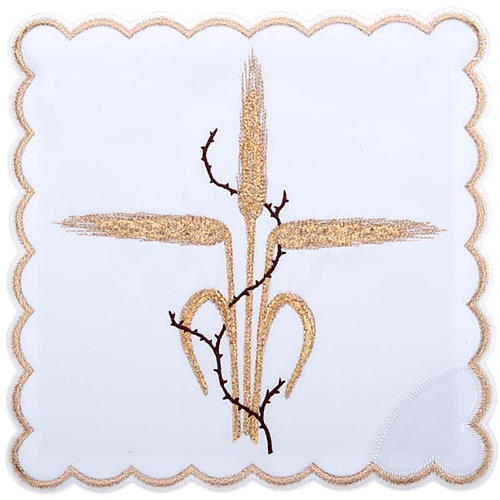 Mass linens 4 pcs, ears of wheat and thorns symbol 1