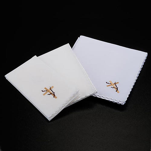 Mass linens 4 pcs, ears of wheat and thorns symbol 2